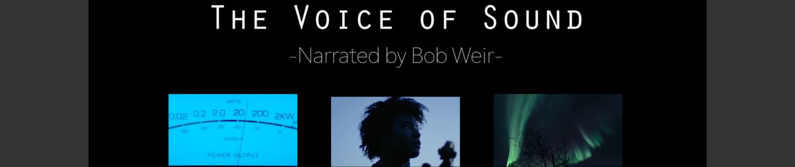 The voice of sound 1 1