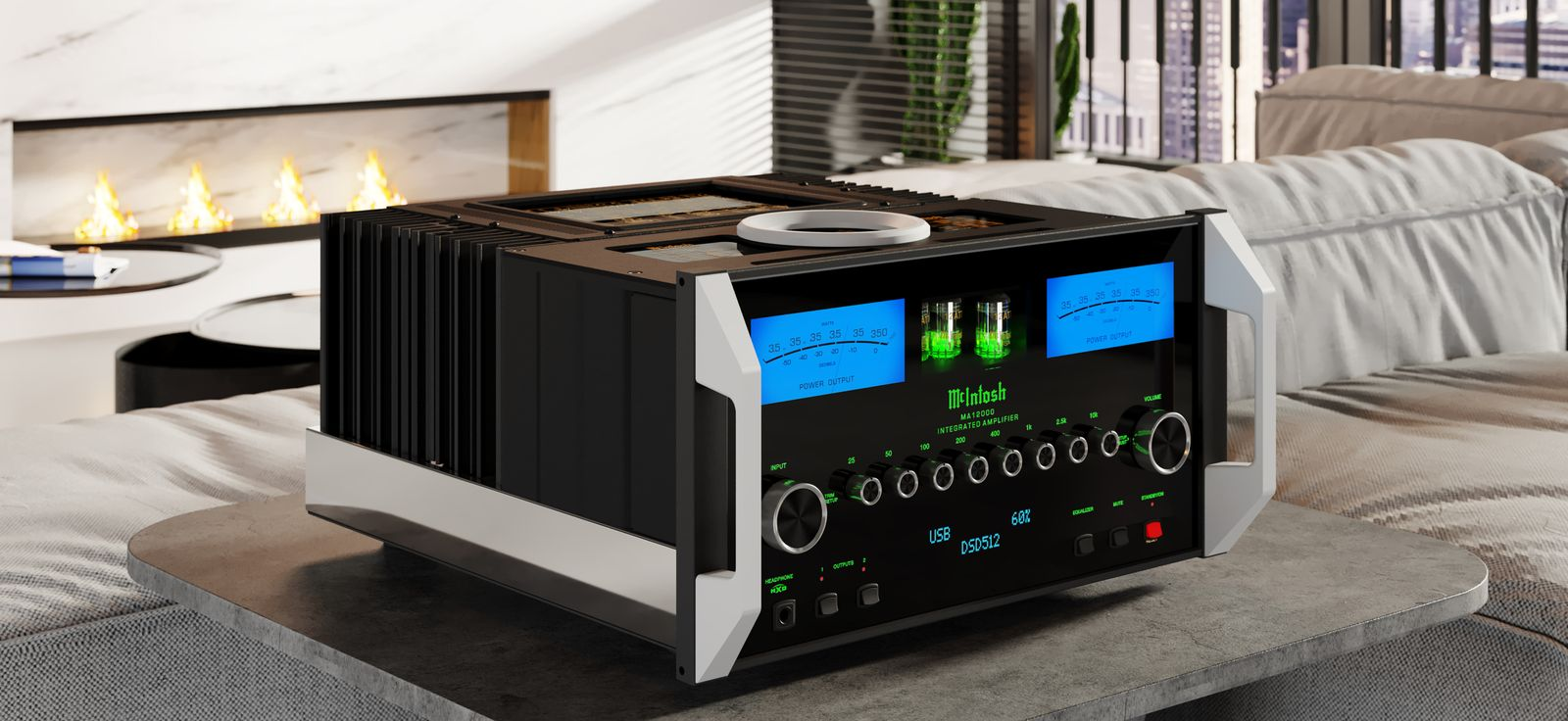 McIntosh MA12000 flagship integrated launches