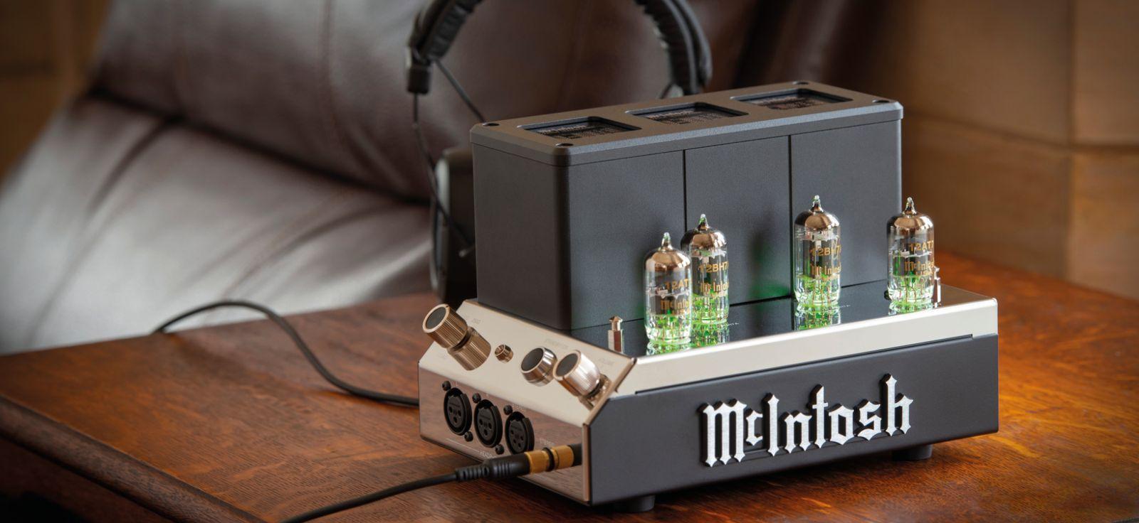 McIntosh MHA200 Valve Headphone Amplifier launches