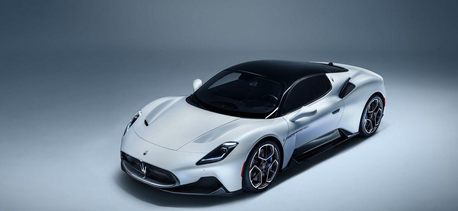 Maserati MC20 super car equipped with Sonus faber amplified audio