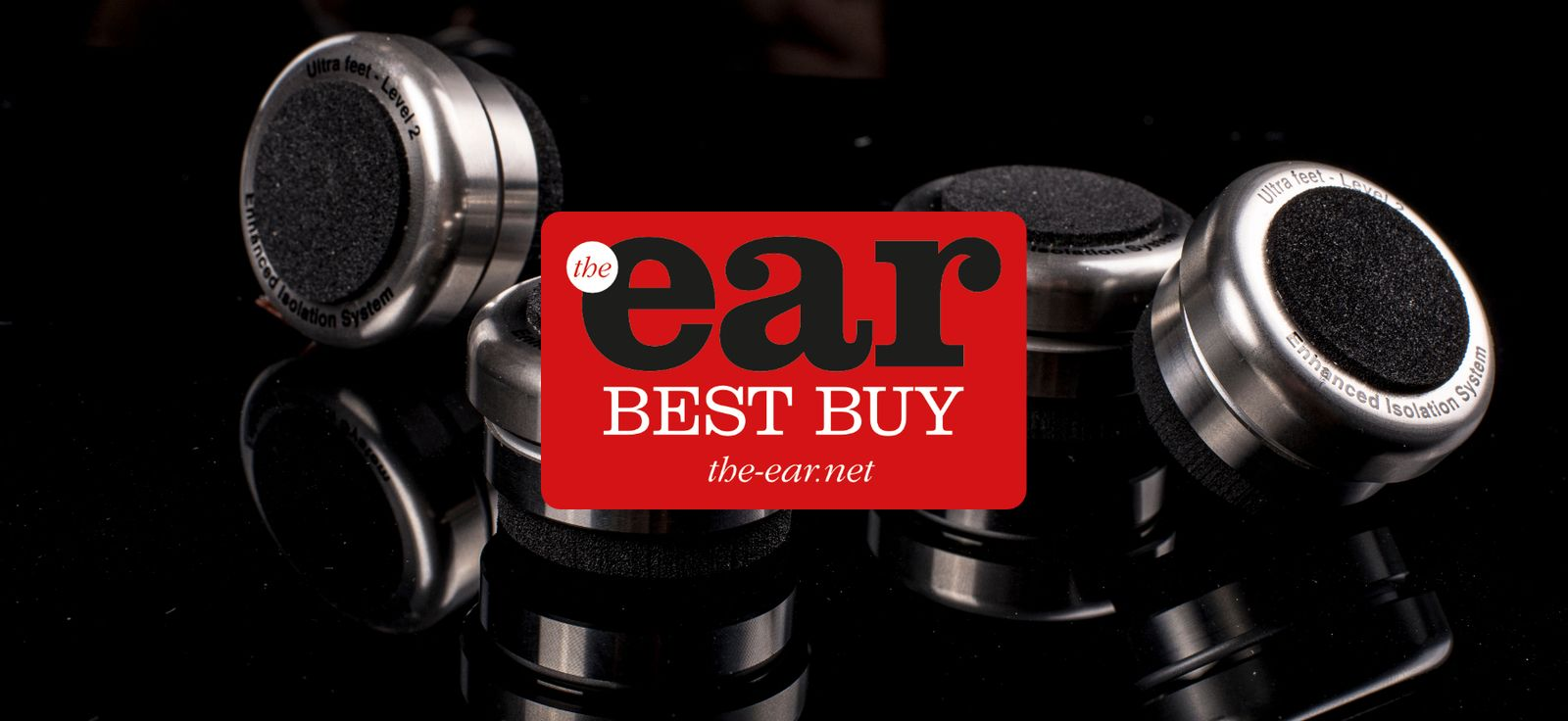 Bassocontinuo Ultra Feet awarded 'Best Buy' by 'the ear'