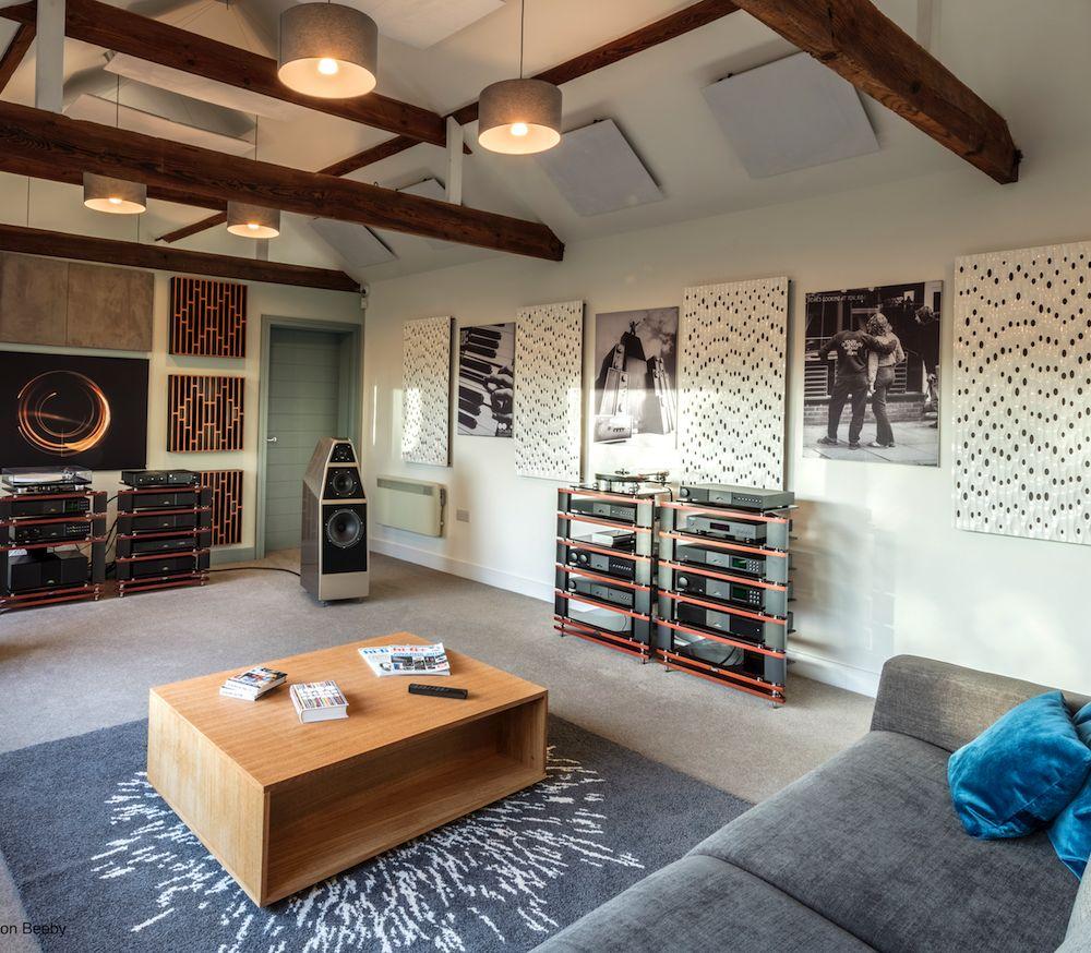 Naim Room with Wilsons