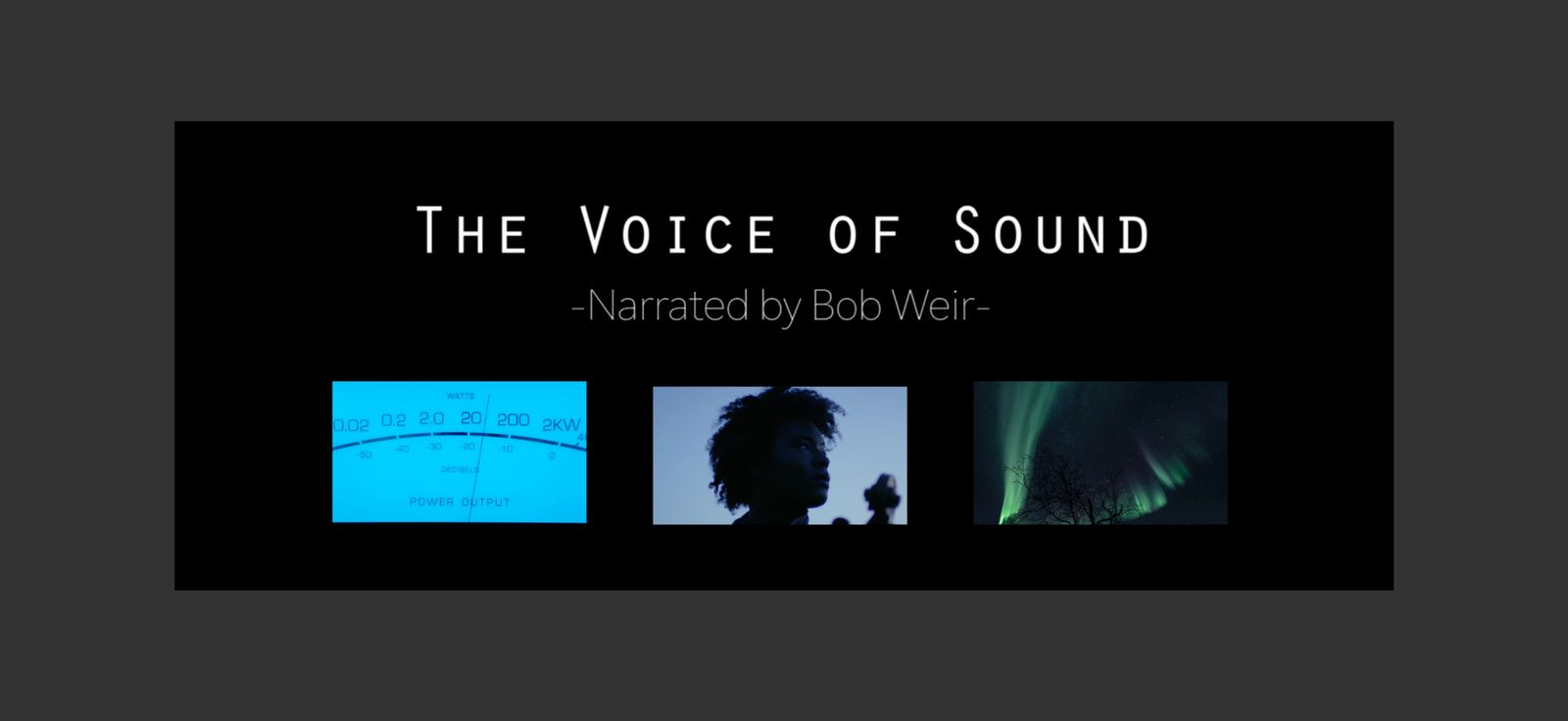 McIntosh, The Voice of Sound - Narrated by Bob Weir
